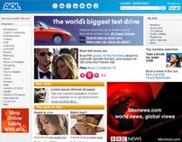 AOL Online Branding