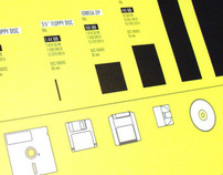 Visual Data Storage Poster - Disc