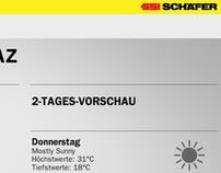SSI Schäfer - Infoscreen