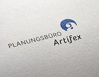 »Planungsbüro Artifex« – Corporate Design