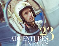 "Cover editorial for 7Hues Magazine ""La vie Parisienne"""