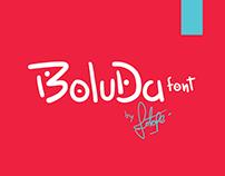 Boluda / Font