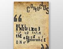 David Carson - Grunge Typography Poster
