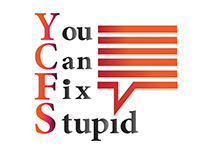 Logo news / You Can Fix Stupid.