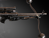 Bowcaster Wookiee Crossbow 3D print model