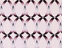 Translucent Geo - Decorative Fabric Design
