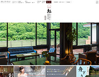 Japanese ryokan website