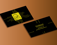 Creative business card for Network Administrator