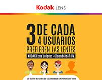 Infografía Kodak LENS