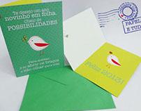 Cartões de Natal/Christimas Cards Papel e Tudo
