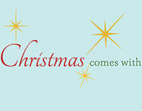 """Christmas Comes With"" Storybaord"