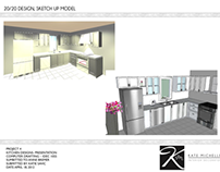 Kitchen Design - 20/20 & SketchUp