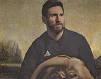 MESSI (THE G.O.A.T)... NEW PAINT