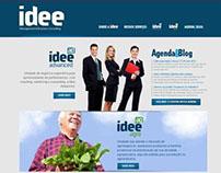 Idee - desenvolvimento do site