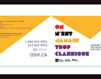 OSM - Brochure Promotionnelle