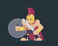 Flat Character Art