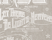 """Luminares Poster, """"Let There Be Lights"""""""