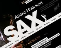 saxophonist Alex Novikov