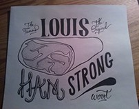Louis Ham'strong - Typography