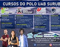 Cartaz Polo Universitário UAB Surubim