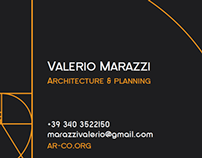 Architect Business Card