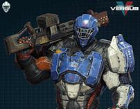 Modern Combat Versus New Character - Gameloft