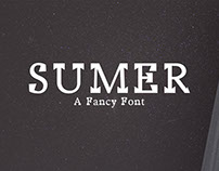 Free Sumer Fancy Demo Font