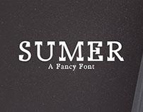 Free Sumer Fancy Demo Font