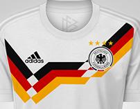 Retro designs in Adidas 2015/2016 template