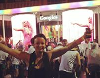 Google Mardi Gras Experiential Float