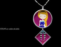 Fairy tales collection / Illustration in jewelry