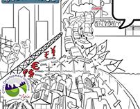 Illustration, Stage Design & Live Sketch