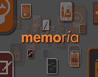 Memoria Game Application