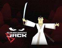 Samurai Jack Papertoy