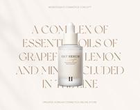 E-COMMERSE Organic Korean cosmetics online store