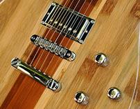 JAM electric bamboo guitar for Bambu Brasileiro