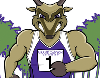 Grand Canyon University - RUN FOR A PURPOSE Logo