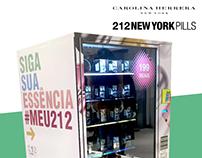 Carolina Herrera 212 PILLS Vending Machine