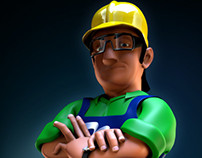 Ramco® 3D Mascot