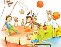 Educación Física Ilustración PORTADA-COVER