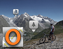 OsmAnd GPS App User Interface (versions 0.7-1.1.2)