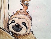 Autumnal Sloth