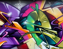 Some of my graff work...
