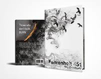 Book Cover Redesign | Fahrenheit 451