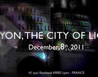 Invitation Fête des Lumières de Lyon 2011