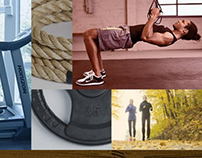Fitness Resource responsive ecommerce site design