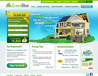 Website UI - GreenOhm Website