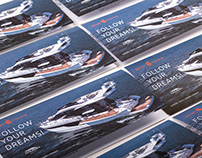 Smart Yachts: Leaflet and Invitation Cards