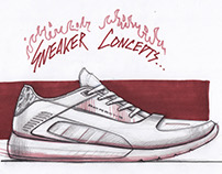 Sneaker sketches 2015-16