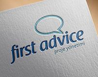First Advice Proje Yönetimi Kurumsal Kimlik Tasarımı